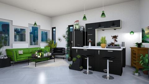 UJ Kitchen - Modern - Kitchen - by Isaacarchitect