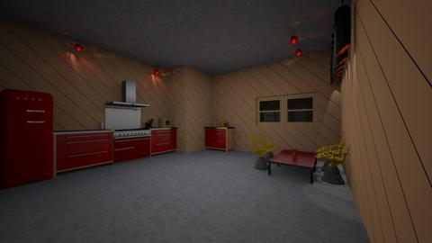 Playful Kitchen - Modern - Kitchen - by cheesyjokeii
