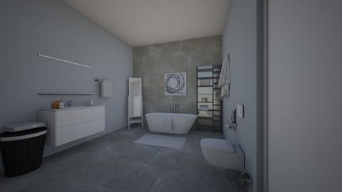 bathroom - Modern - Bathroom - by hannahlaing