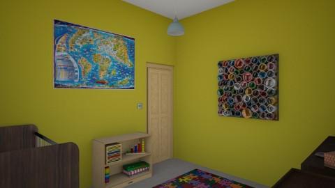 baby room final - Kids room - by chloeorris13