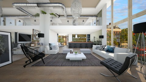 an imaginery loft - Modern - Living room - by sometimes i am here