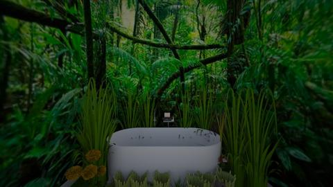 urb jungle bathroom - Bathroom - by ppaige_2007