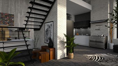 loft zebras - Modern - Kitchen - by jjannnii