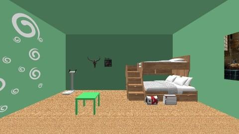 green Junjle - Modern - by CEKEYA JOHNSON