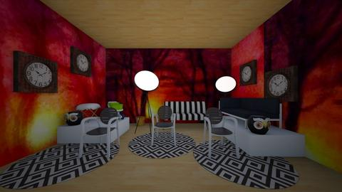 crazy design - Living room - by kla