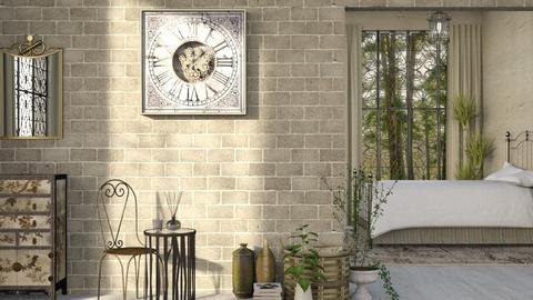 Clock Effie - Bedroom - by JayPH