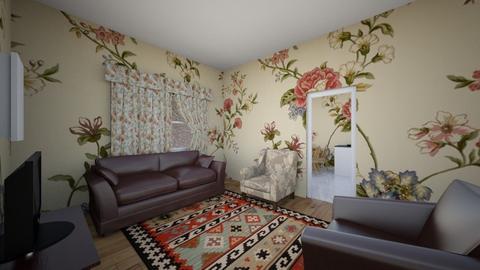 Grannys Living Room - Rustic - Living room - by Peyton G