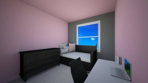 Destinys New Room - Minimal - Bedroom - by dezigymnast