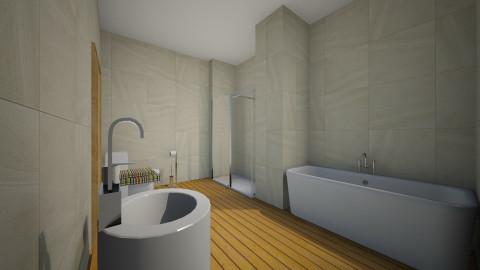 banheiro simples - Glamour - Bathroom - by ly_sousaah