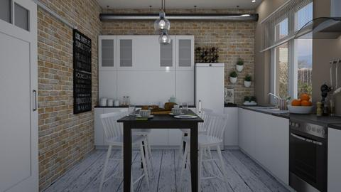 Town home - Kitchen - by Tutsi