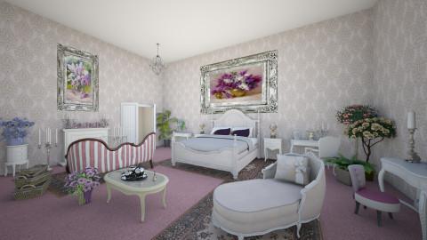 Colonial Renovation - Bedroom - by Bethany_Johnson