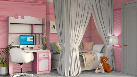 kids room - Bedroom - by AnxhelaN