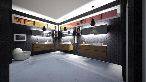 public toilete - Glamour - Bathroom - by ainavidal_