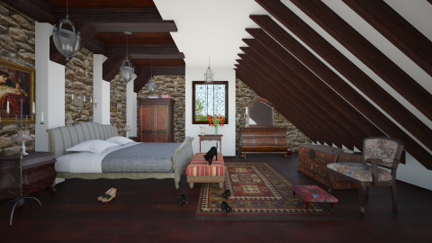 old room  - Country - Bedroom - by Ida Dzanovic