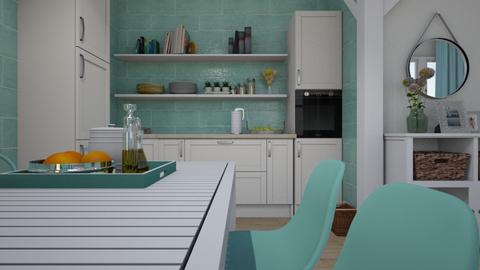 mint kitchen - by ANAAPRIL