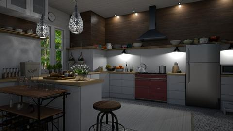 EKitchen - Kitchen - by rickglassinteriors