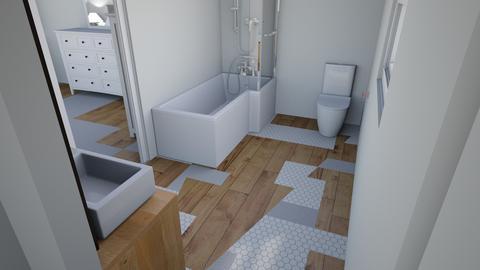 New Master Bath 2 - Bathroom - by durkadur26