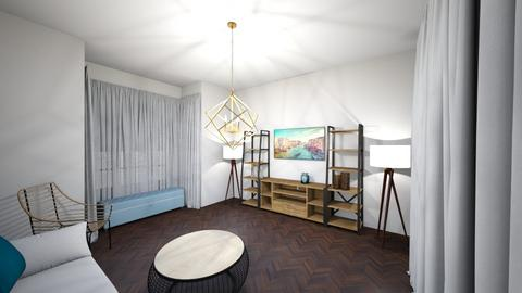 living3D4 - Modern - Living room - by AyeletBitranArchitect