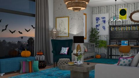 eclectic love - Living room - by boho_dreamer
