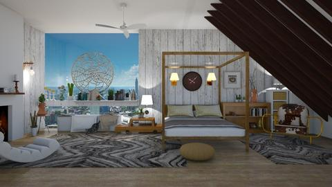 Agate - Bedroom - by The quiet designer
