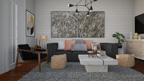 1286 - Living room - by Riki Bahar Elbaz