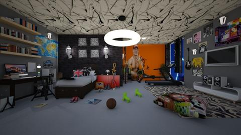 teenager bedroom - by Spencer Reid
