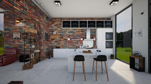 Kitchen2 - Kitchen - by ArtHousedeco