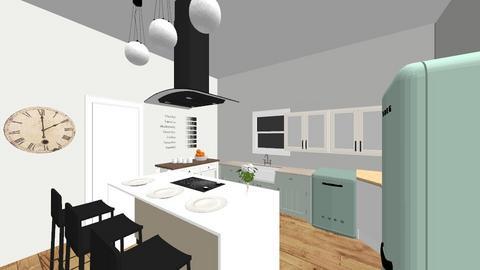 kitchen a la mode - Kitchen - by amandastrack23