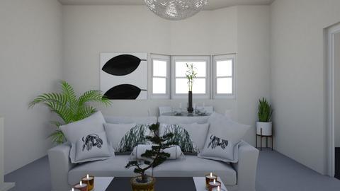 Living 2 - Minimal - Living room - by nramsamy1994