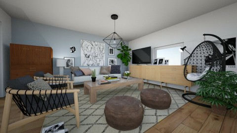 Apartment Redecoration - Modern - Living room - by dadearin