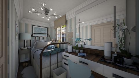 Tiny bedroom - Modern - Bedroom - by HenkRetro1960