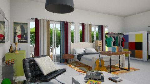 green room - Bedroom - by CASEBOOK DESIGN