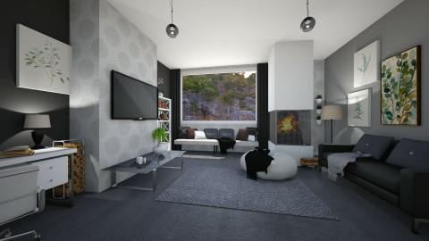 relax everywhere - Living room - by Tinkagolianova