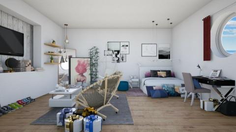 1  - Modern - Bedroom - by Bao Tran