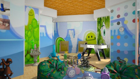 Ruggycord - Kids room - by Pilita Jabers