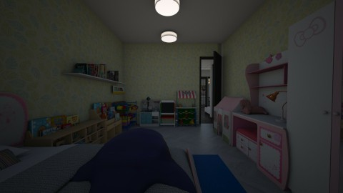 caca house kids room - by sasasaaaw