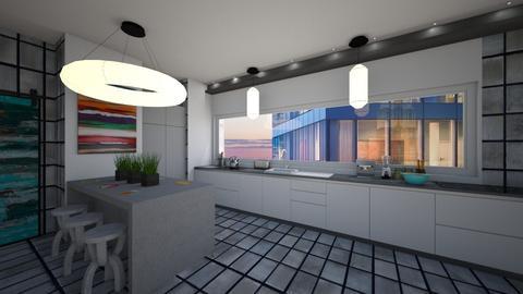 Kitchen - Modern - Kitchen - by michalbank11