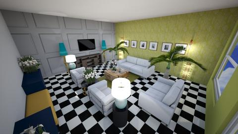 gloglolicouss interiors - Living room - by glodism