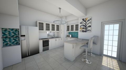 nifty kitchen - Kitchen - by chloebear