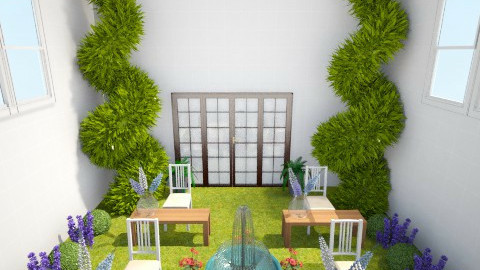 garden office - by fluffybunny1426