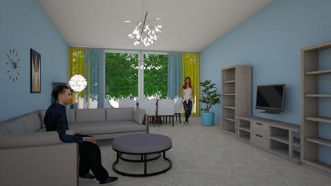 Room 1 - Living room - by Style2019