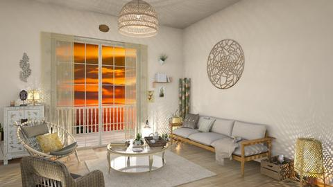 bamboo living - Living room - by Valerie Meiner