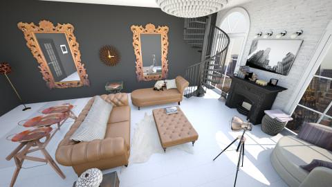 Manhattan Living - Living room - by LucySantos