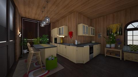 konyha - Dining room - by istvanka