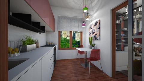 anordinaryflat_kitchen - by Laurika