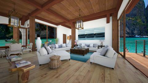 Casa da ilha - Living room - by Roberta Coelho