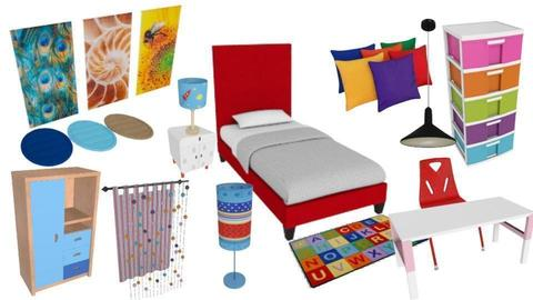 Kids Bed Room - by sugathcafe