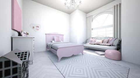 girls room - Vintage - Kids room - by 0liviaRosee
