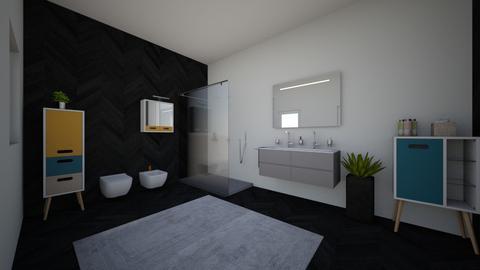 bagno colorato - Modern - Bathroom - by mati07
