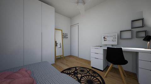 roni bedroom - Minimal - by Netalie Treistman Ben Zaken